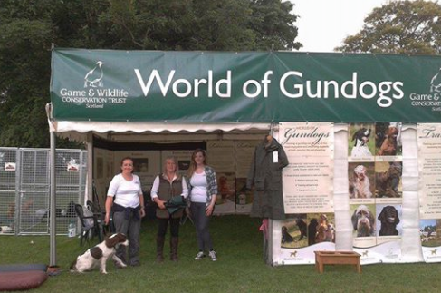 @nickragreen @ScotGameFair @JohnFieldCloth Glad you enjoyed The World of Gundogs with our team of experts #SGF2014 http://t.co/LK9iyvpgPR