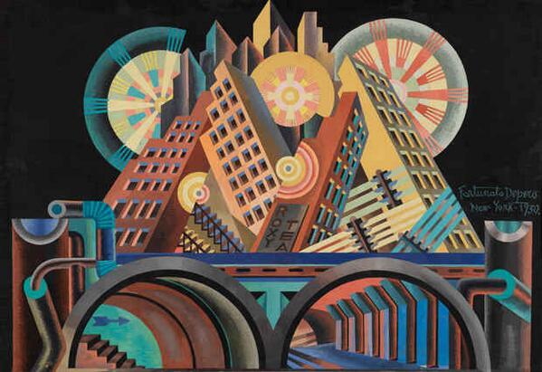 "[Now on View @Guggenheim ] ""Italian Futurism, 1909–1944: Reconstructing the Universe"": http://t.co/0RbFEbWK24 http://t.co/Ut1z2ln89D"