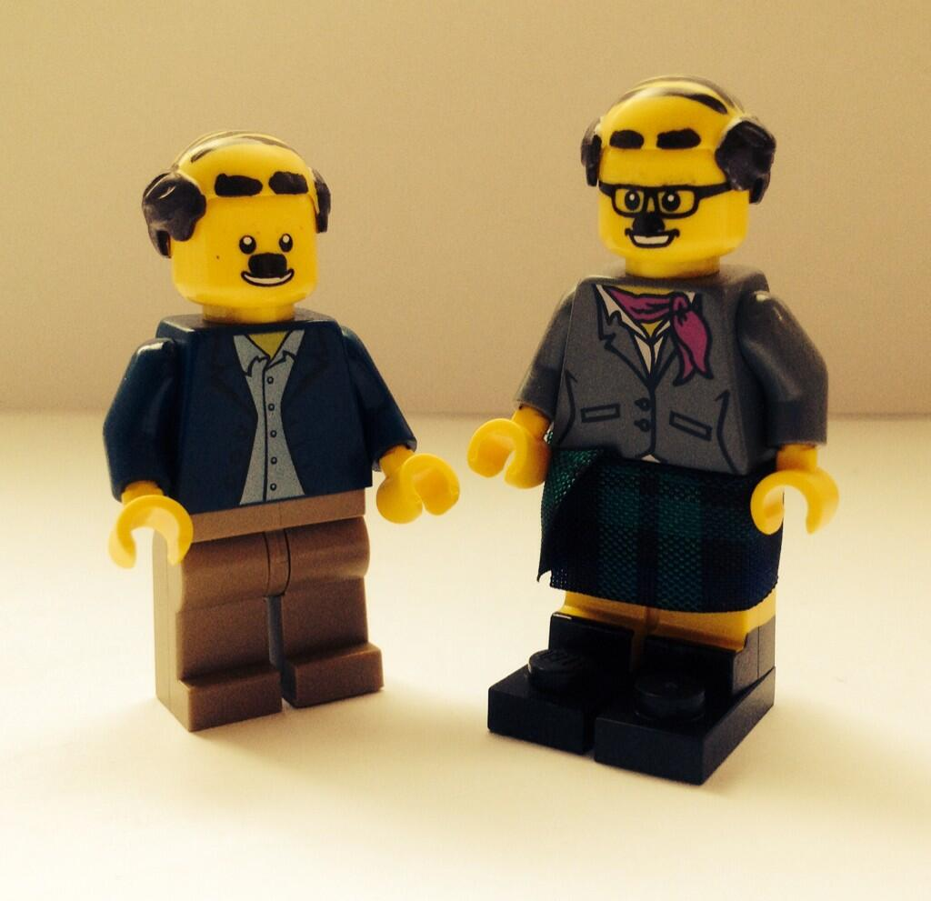 RT @scottywrotem: I've made some Donald and Davey Stott Lego. http://t.co/T4syDOJu6D