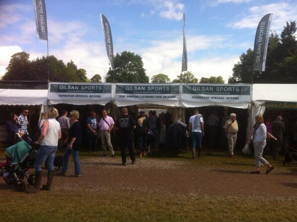 Sun shine at the Scottish Game Fair today no better place to be http://t.co/boqJeQFQkQ