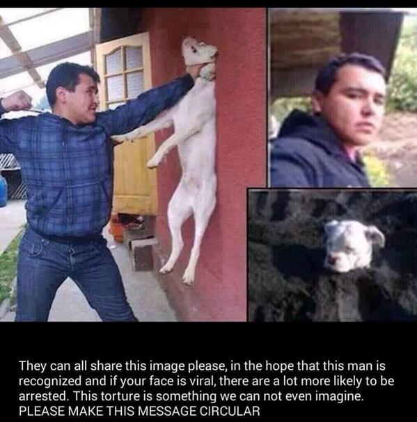 Please SHARE Please call your local authorities if you know who this is!He needs to be thrown in jail..this poor baby http://t.co/ZYnf3pUrzQ