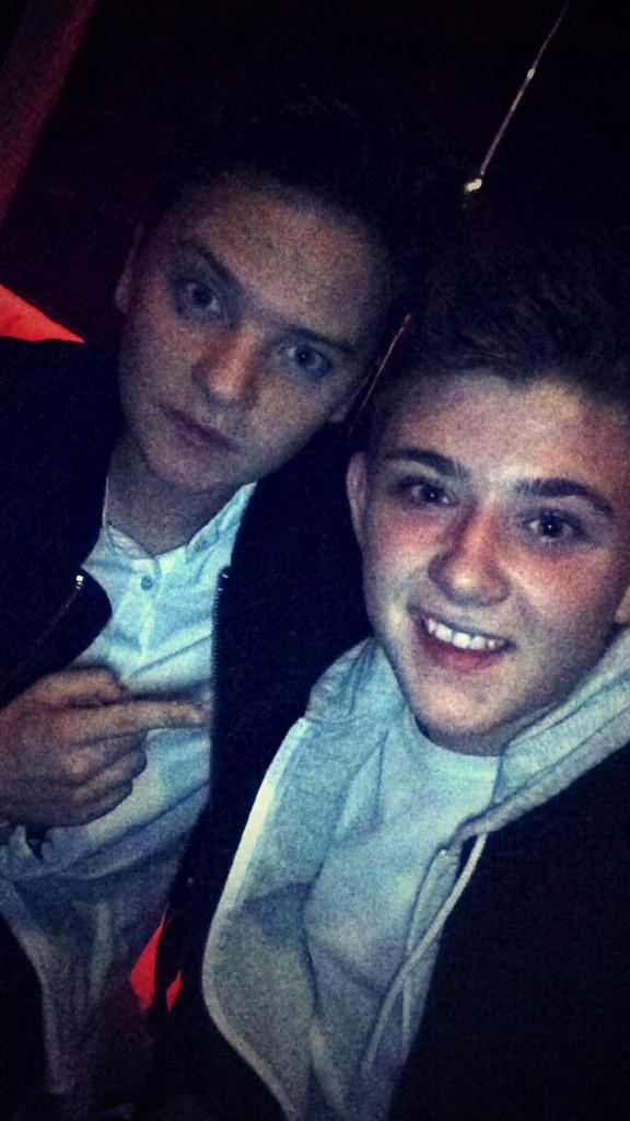 Good seeing you last night bro @ConorMaynard 🙌 http://t.co/iuLUC511q1
