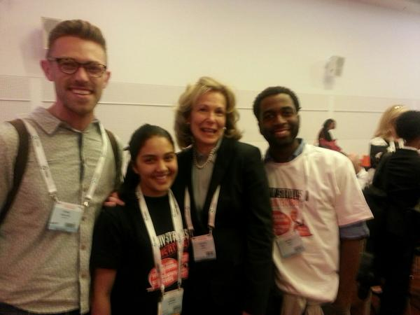 Leadership we need to fight #HIV Amb Birx @PEPFAR @miraseq @FightGlobalAIDS Michael Tikili @HealthGAP #AIDS2014 http://t.co/RPfUd6XafJ