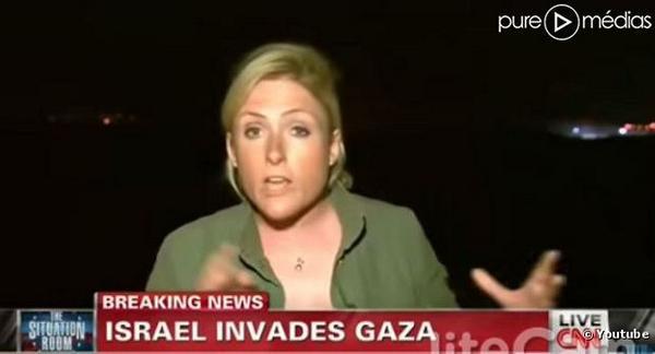 Gaza : Une journaliste de CNN mutée après avoir traité des Israéliens 'd'ordures' http://t.co/DMmLpR0Jb9