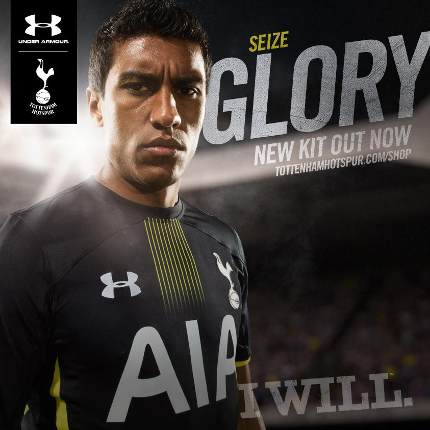 Official Release! Christian Eriksen & Paulinho model Tottenhams new 2014 15 kits [Pictures]