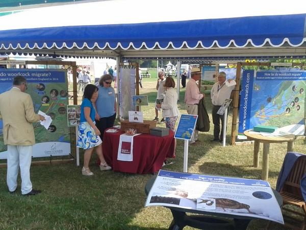 GWCT stand at CLA Game Fair http://t.co/96vMXdsUcS