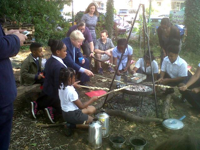 Just launched pilot against obesity w/ help of kids at Christchurch school Lambeth and their healthy cooking skills http://t.co/vdEldAlbjp