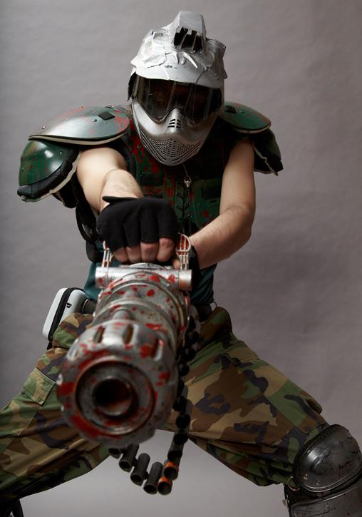 D4gameplay On Twitter Brutally Cool Doomguy Cosplay Send Your