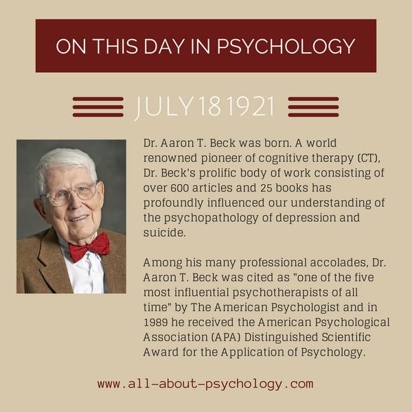aaron beck psychology