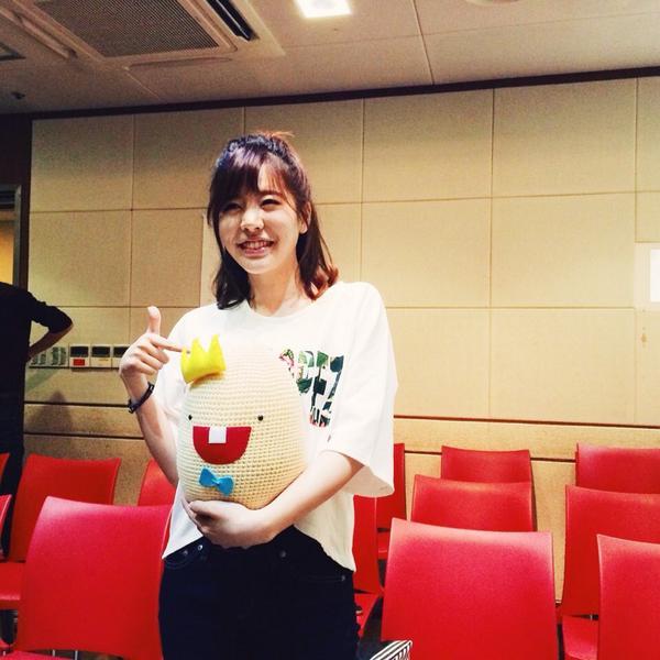 '써니의 FM데이트' 다녀왔습니다~!  만나서 반가웠어요 써니양~!!ㅎ :-)   #FM_데이트 #소녀시대 #SNSD #써니 #Sunny #Standingegg http://t.co/lvrM3uAsIq