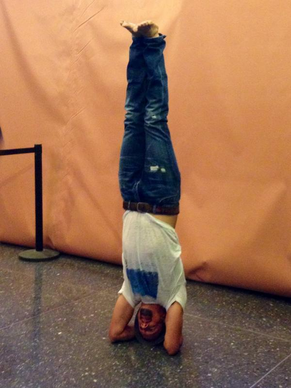 @jason_mraz just practicing some yoga at the @TODAYshow... No big deal! #JasonMrazTODAY <br>http://pic.twitter.com/DZT4h7BkH8