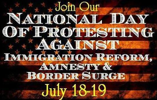 Amnesty-border protests alll across US today
