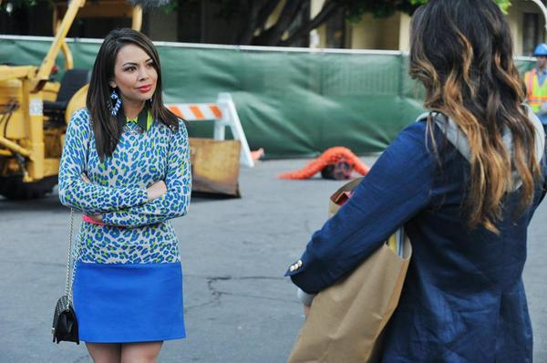 Mona is always up to no good... (Twitter, @ABCFpll)