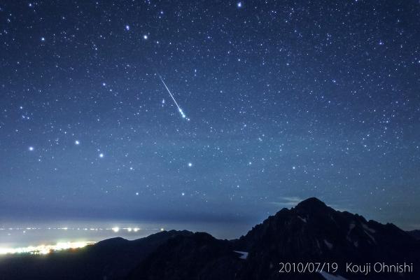 今日の星景写真 2014 July 19 46億年の終焉 The end of the 4.6 billion years 撮影:2010年7月19日02h03m(exp.30sec) @剣御前(富山県) pic.twitter.com/RRgfpPp7Uq