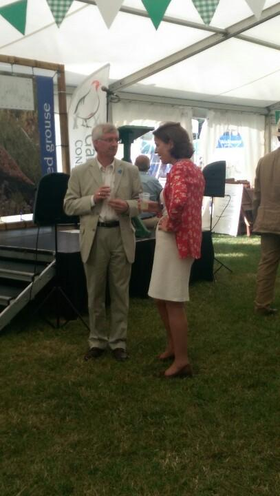 GWCT and RSPB heads talking - would be great to do more of this #CLAGF @Natures_Voice @MarkAvery http://t.co/Y9hJTKpnns