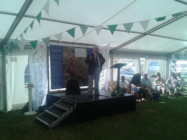 """everybody can do better when it comes to conservation"" - Ian Coghill, GWCT chairman. http://t.co/JG31kyO0cS"
