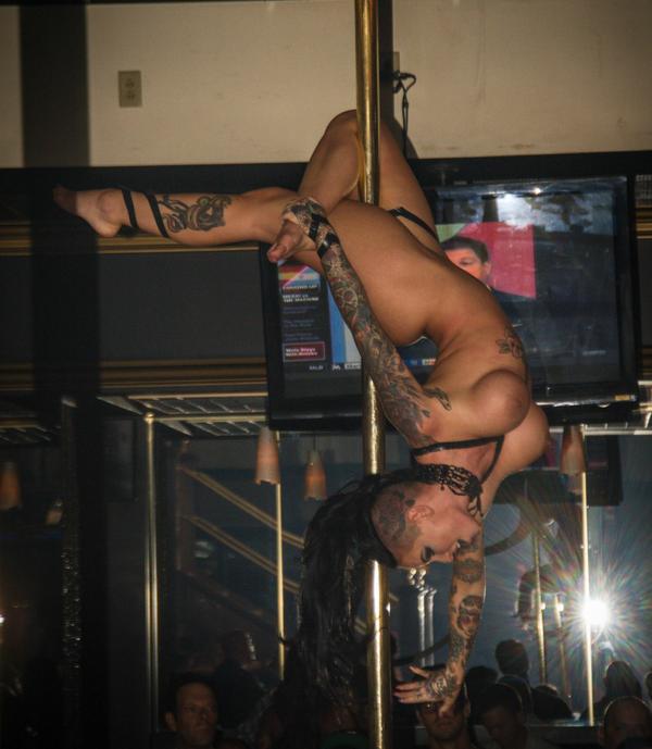 american idol that danced in strip club