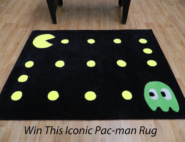 The Rug Retailer On Twitter Win This Retro Pacman 120x160cm Rrp 79 00 All You Need To Do Is Follow Us And Re Tweet Post