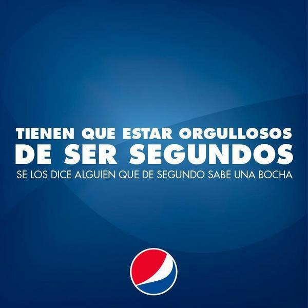 Enhorabuena (desde el máximo respeto) a @PepsiEspana por su anuncio en Argentina, lleno de positivismo y humanidad ! http://t.co/UanUWfoi4Y