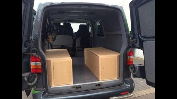 35th-interiors on Twitter  Marine ply wood interior vw t5 ideal for trade vans or just some thing different turns from seat bed to storage box ... & 35th-interiors on Twitter: