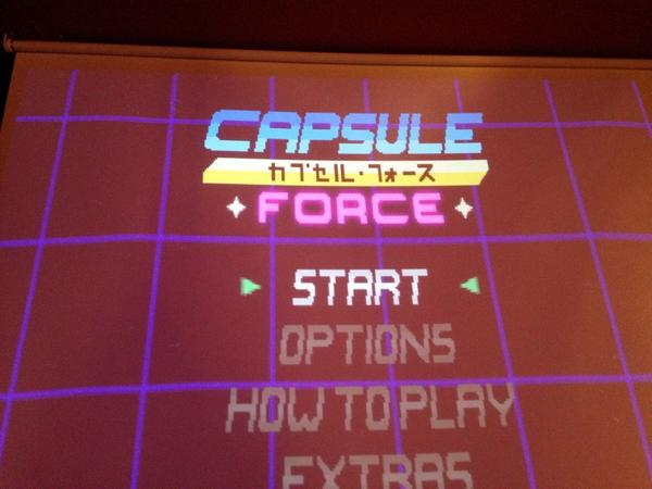 At the @_LadyCADE event at @barScenario. Played a bit of Capsule Force which is FRIGGIN' GREAT! http://t.co/LQMfMhmkFj