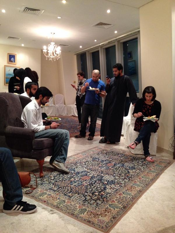 @DohaTweetups suhoor: the only place it's appropriate to tweet and eat at the same time. http://t.co/dbqLRd5b3e