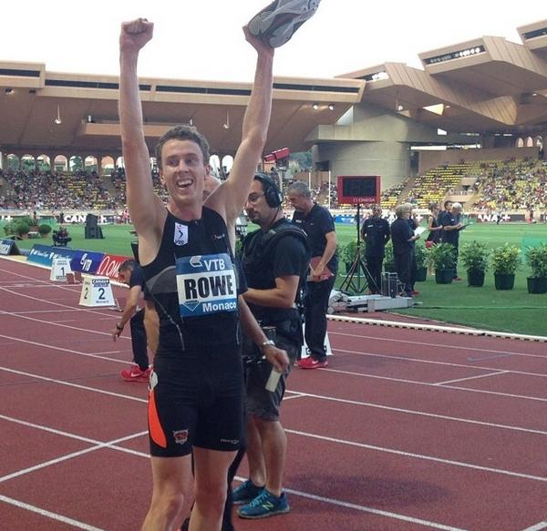 .@AlexanderRowe_ celebrates in Monaco post 800m =NR run. @MeetingHerculis #DiamondLeague @VicInstSport http://t.co/DUyE9u7xtN