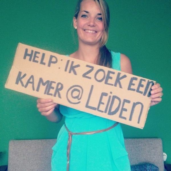 Nichtje van me zoekt kamer in #leiden  Wie weet/heeft iets? #kamer #student http://t.co/DmDCgbReDs