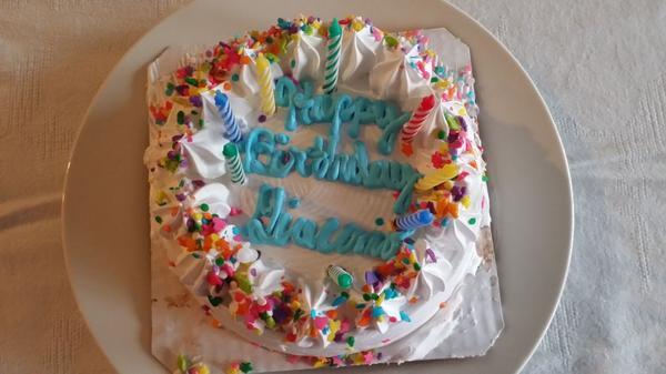 Superb Isabella Mancini On Twitter Happy Birthday Giachi Cake Bjs Funny Birthday Cards Online Overcheapnameinfo