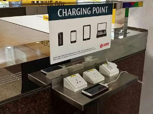 Got a flat battery? We've installed several charging points so you can make a quick charge! http://t.co/5a1WWrTljS http://t.co/4NoIEEzRGR