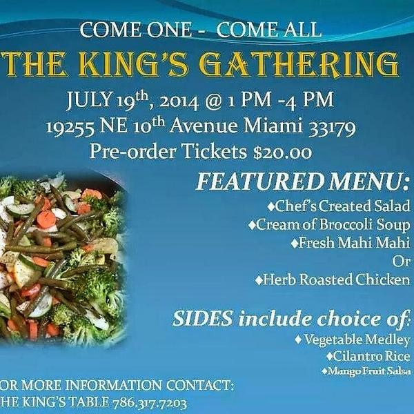 The Kings Chef TheCHEF Twitter - Kings table catering