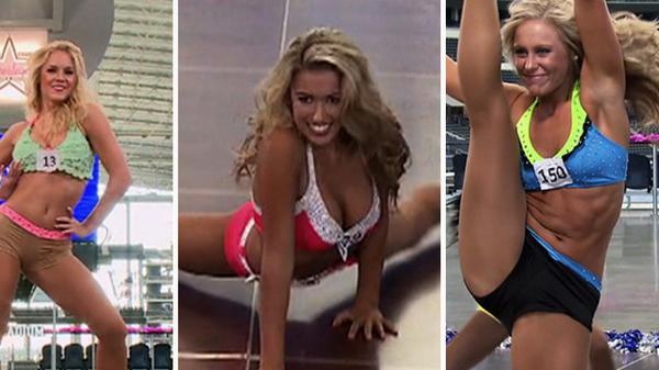Cheerleader booty pics