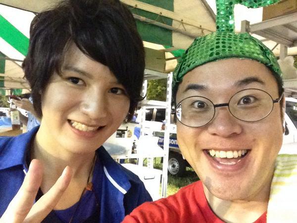 大分出身のモデル、佐々木一馬さんとイケメン2トップカボッスo(^▽^)o http://t.co/MD3oGg8lvU
