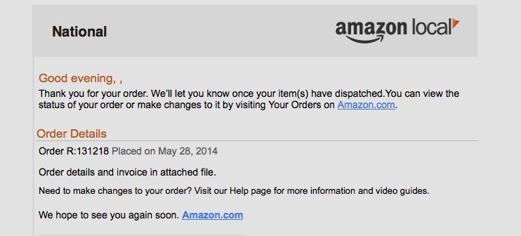 Amazon negle Choice Image