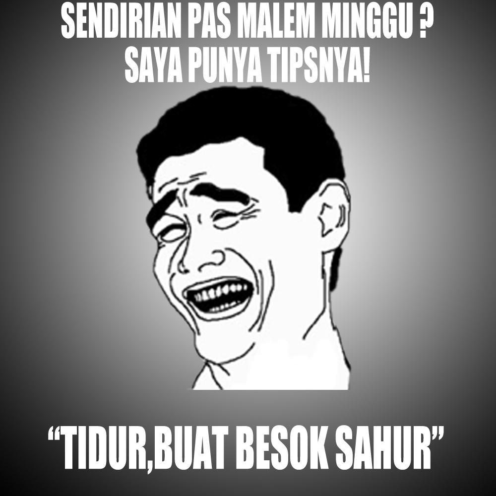 Meme comic indonesia on twitter buat besok sahur can http t co jpfxuf6hpz