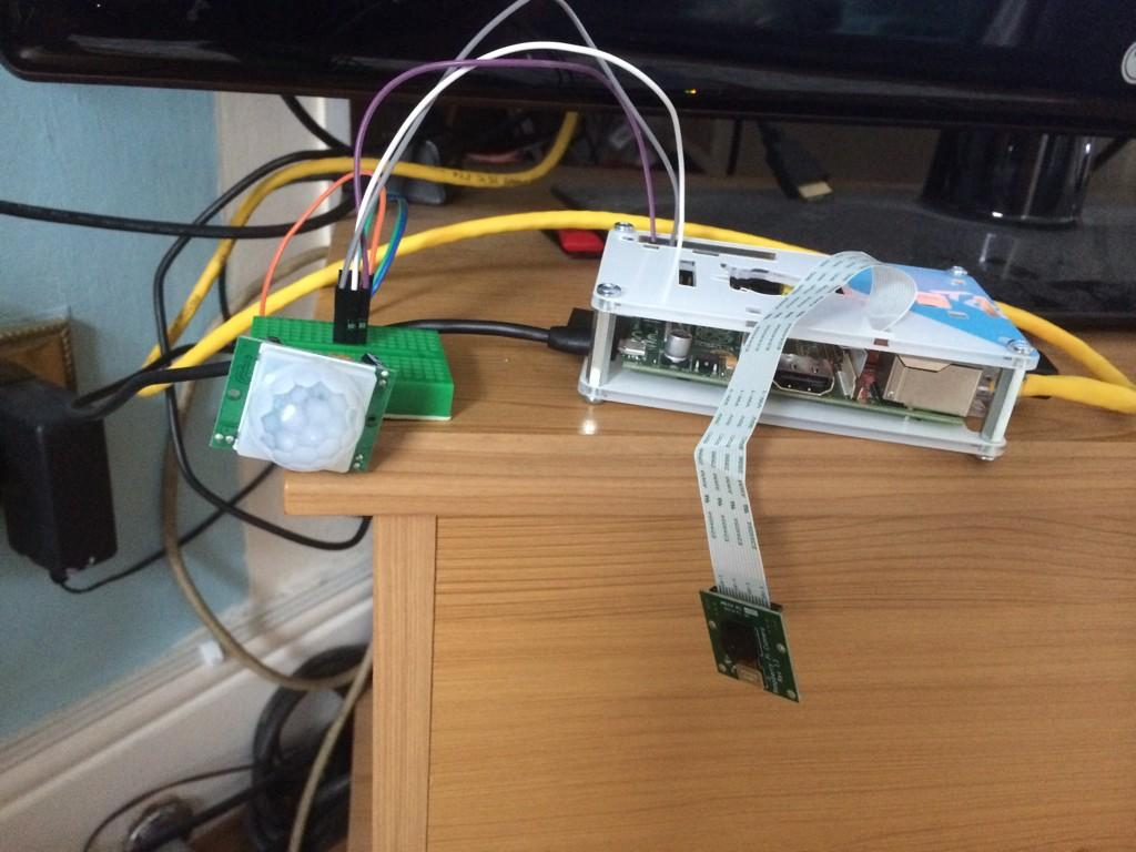PIR / PICAM / PushBullet Alert - Raspberry Pi Forums