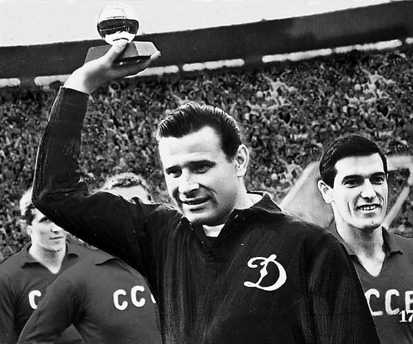 Lev Yashin con su Balón de Oro