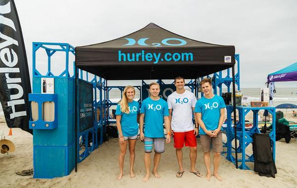 Boots on the ground, feet in the sand.  Be on the look out for an H2O beach activation near you. http://t.co/Q3Pc8QEejC