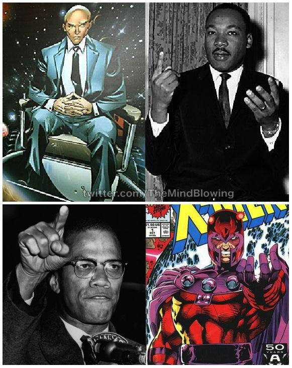 the different tactics used by malcolm x and martin luther king jr The civil rights movement's most prominent leaders, martin luther king, jr malcolm and martin published by thriftbookscom user , 11 years ago this book presents the differences between arguably the two most famous civil rights activists of the fifties and sixties, as well as showing the.