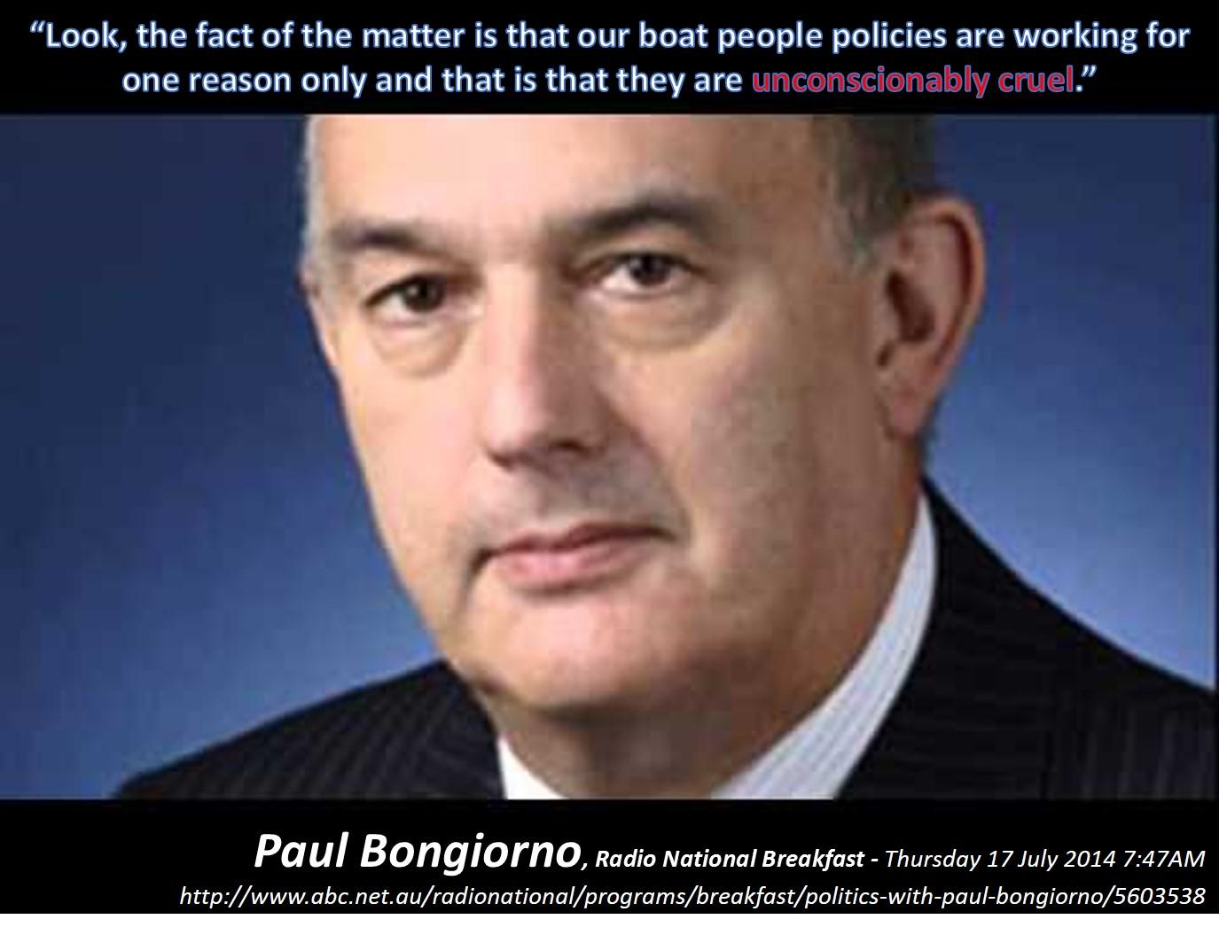 Twitter / sanomum: @JulianBurnside Paul Bongiorno ...