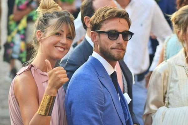 Image result for Marchisio with his wife