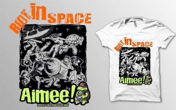 Masih di buka PO kaos @AimeeRocksteady size S - XXL   warna putih & abu2   tag Gildan   Plastisol   100k :) http://t.co/YV38jaYWoc