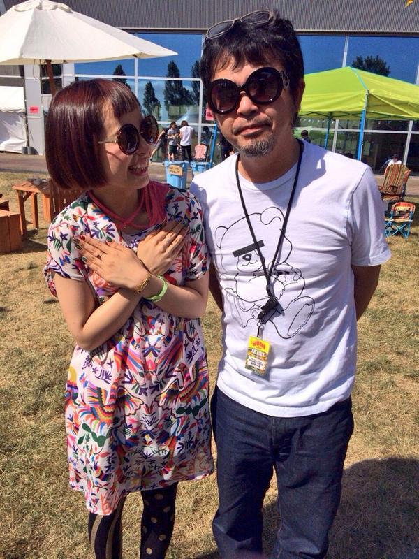 奥田さんとこの民生さん、小春のサングラスかけて新生チャラン・ポ・ランタン☆ #JOINALIVE