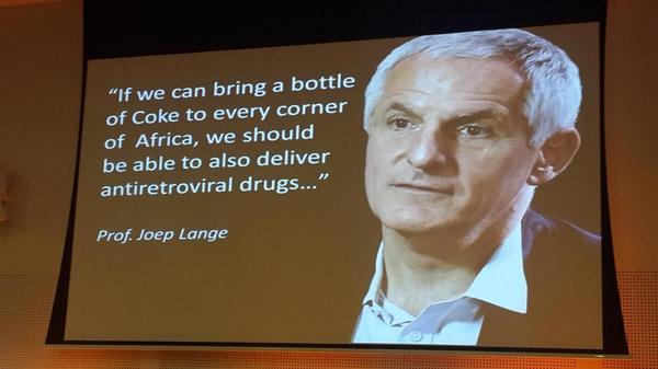 Tribute to Joep Lange #AIDS2014 http://t.co/4kBv0p5hCU