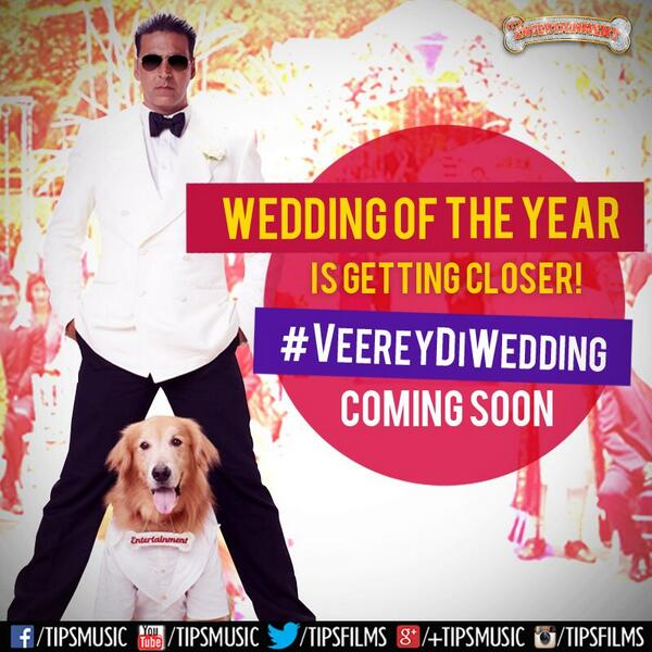 Akshay kumar invites u to the wedding of the year..12th July save the date #itsentertainment http://t.co/mn3TeSxRNt