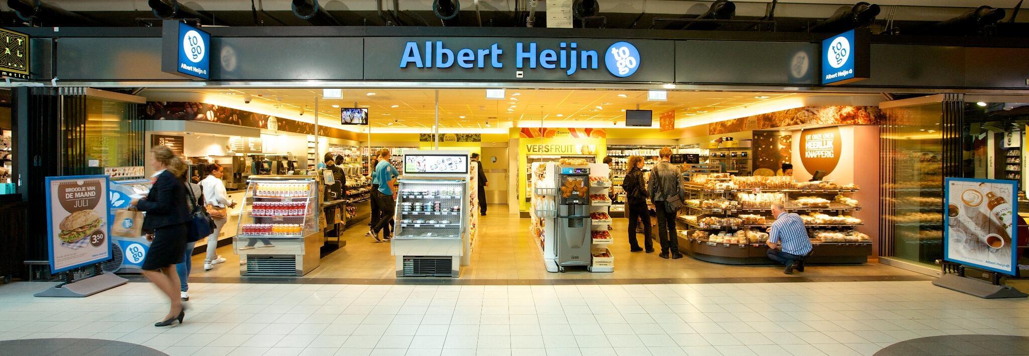 """Albert Heijn Pers on Twitter: """"AH to go Schiphol is ..."""