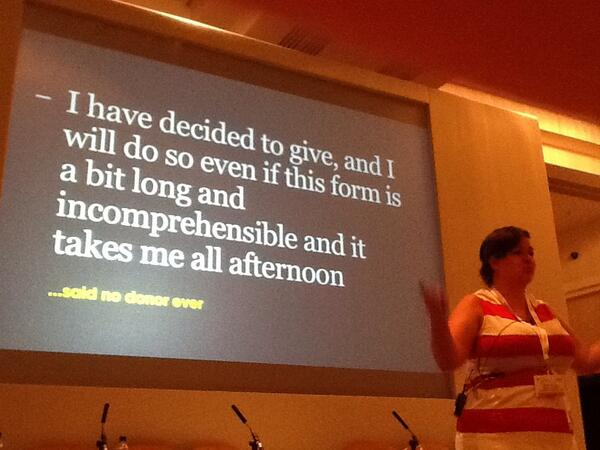 101 contributor Beate in action at #iofnc RT @ifundraiser: No one ever said this! Great common sense from @BeateSorum http://t.co/h89u3hb382