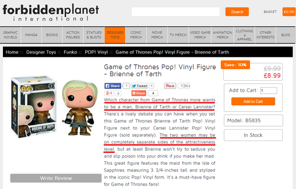 So @fpinternational, care to explain what the hell is up with this? #GameOfThrones @OriginalFunko http://t.co/WiPN3eyRuz