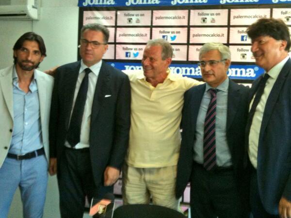 Palermo, Zamparini presenta i nuovi progetti e il nuovo quadro dirigenziale$