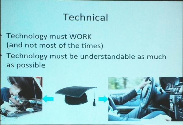 #AVinDH #DH2014 @ArjanVanHessen: scholars should be somewhere between technicians and end users #digitalliteracy http://t.co/0wVSMWUSmY